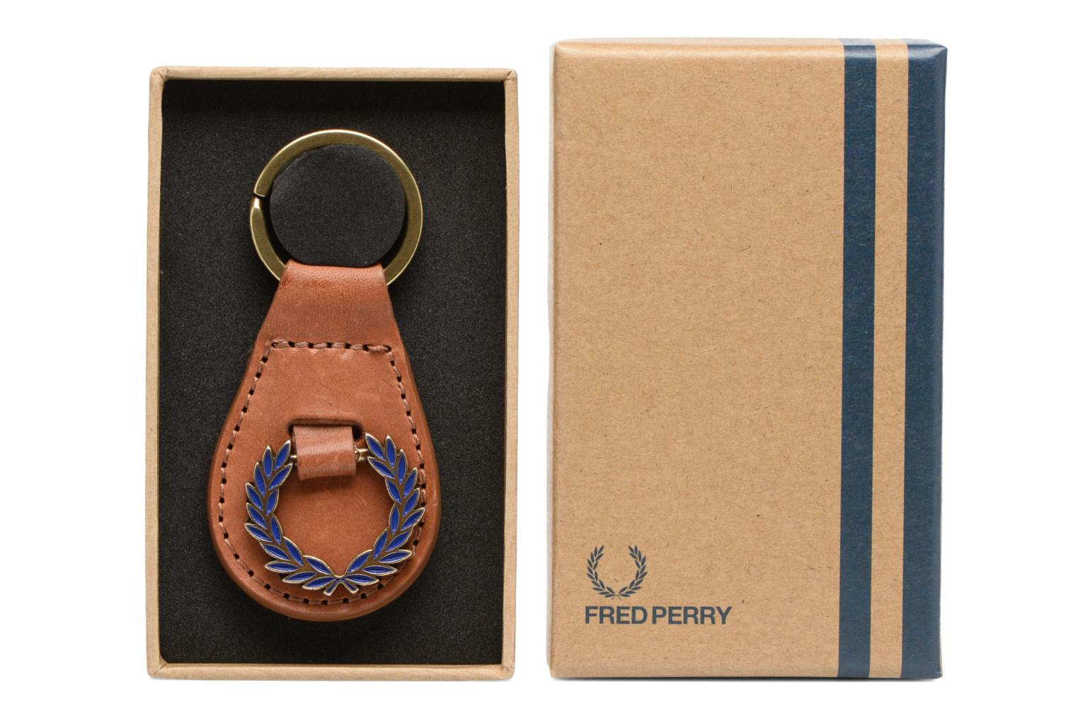 Divers Fred Perry CLASSIC LAUREL WREATH KEY FOB Bruin detail