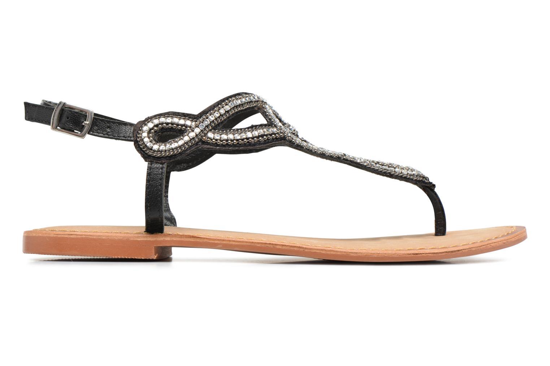Sandales et nu-pieds Vero Moda Sis Leather sandal Noir vue derrière