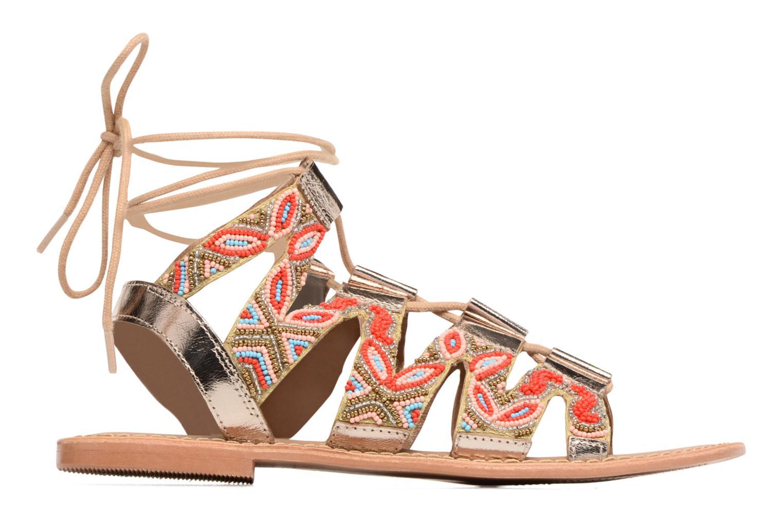 Sandalen Vero Moda Maya Leather Sandal Multicolor achterkant