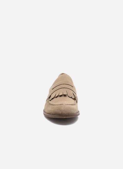 Mocassins Marvin&Co Neilston Beige vue portées chaussures