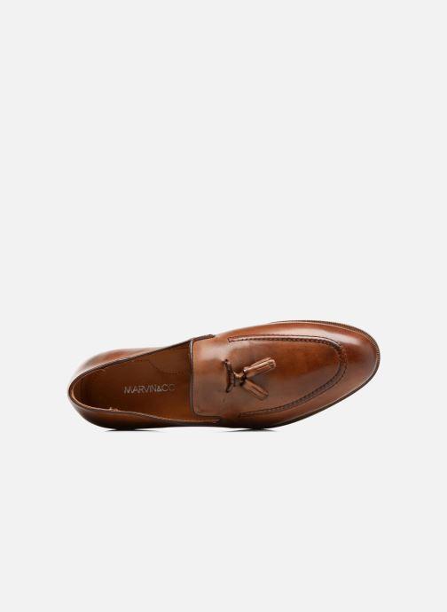 Loafers Marvin&Co Newmains Brun bild från vänster sidan