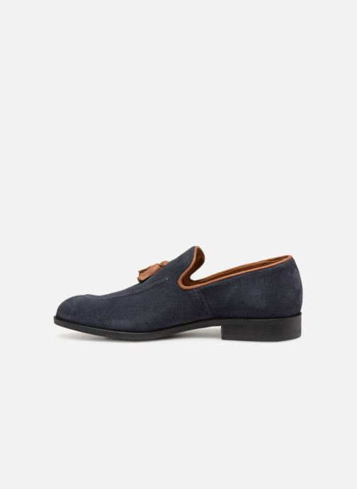 Loafers Marvin&Co Newmains Blå se forfra