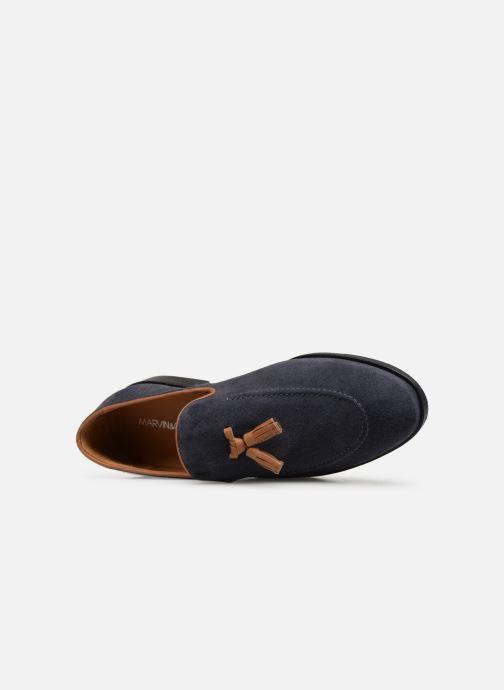 Loafers Marvin&Co Newmains Blå se fra venstre