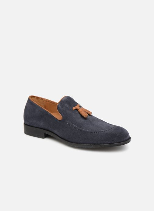 Loafers Marvin&co Newmains Blue detailed view/ Pair view