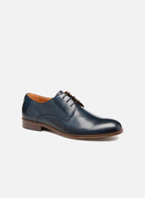 Chaussures à lacets Marvin&Co Nithsdale Bleu vue détail/paire