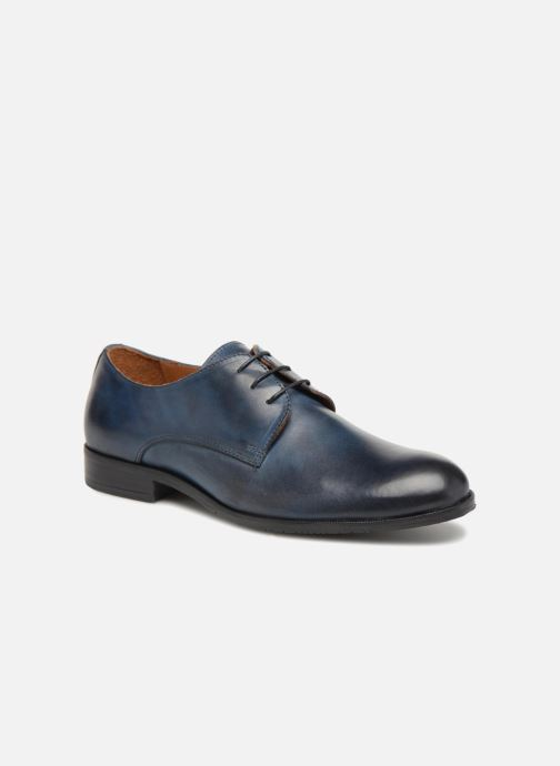 Lace-up shoes Marvin&co Nithsdale Blue detailed view/ Pair view