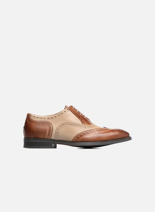 Lace-up shoes Marvin&co Noylow Brown back view