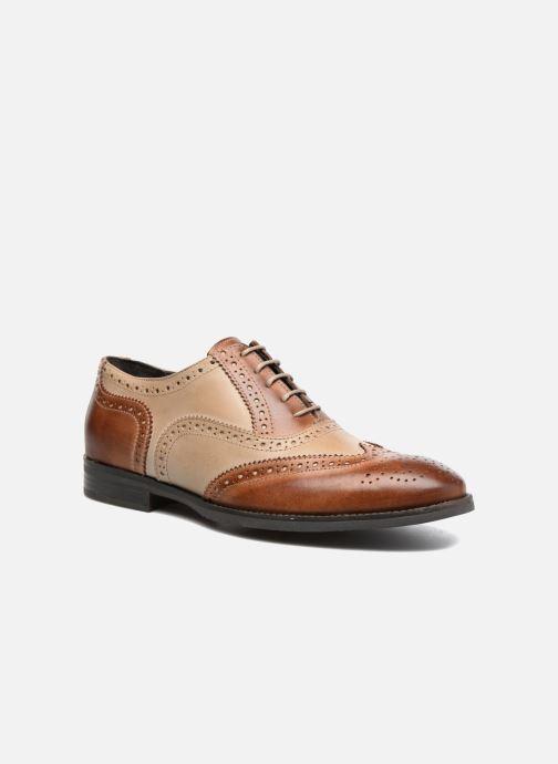 Zapatos con cordones Marvin&Co Noylow Marrón vista de detalle / par