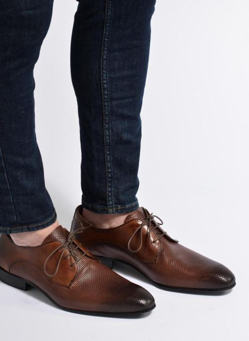 Lace-up shoes Marvin&co Narbroath Brown view from underneath / model view