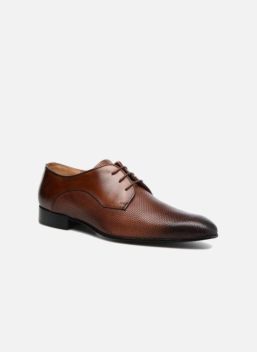 Zapatos con cordones Marvin&Co Narbroath Marrón vista de detalle / par