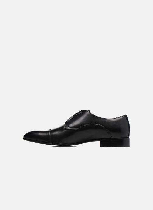 Schnürschuhe Marvin&Co Newlyn schwarz ansicht von vorne