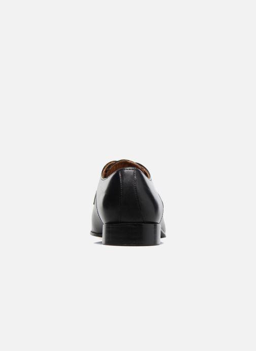 Zapatos con cordones Marvin&Co Newlyn Negro vista lateral derecha