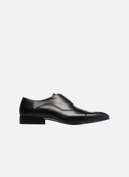 Zapatos con cordones Marvin&Co Newlyn Negro vistra trasera