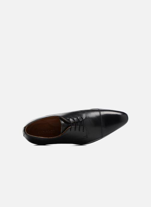 Zapatos con cordones Marvin&Co Newlyn Negro vista lateral izquierda