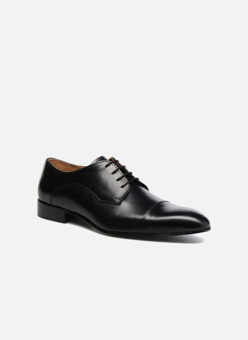 Chaussures à lacets Marvin&Co Newlyn Noir vue détail/paire