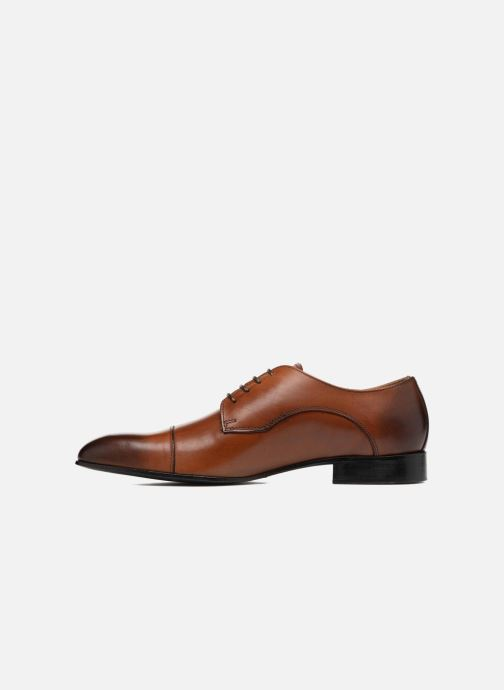 Chaussures à lacets Marvin&Co Newlyn Marron vue face
