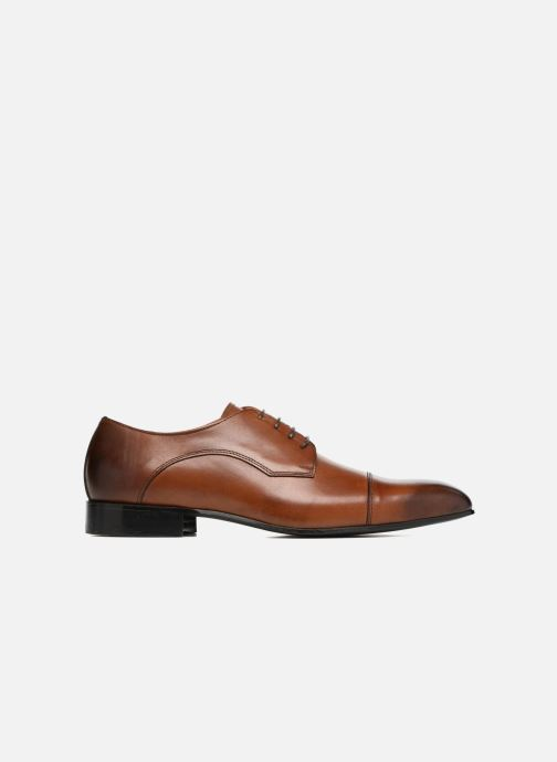 Lace-up shoes Marvin&co Newlyn Brown back view