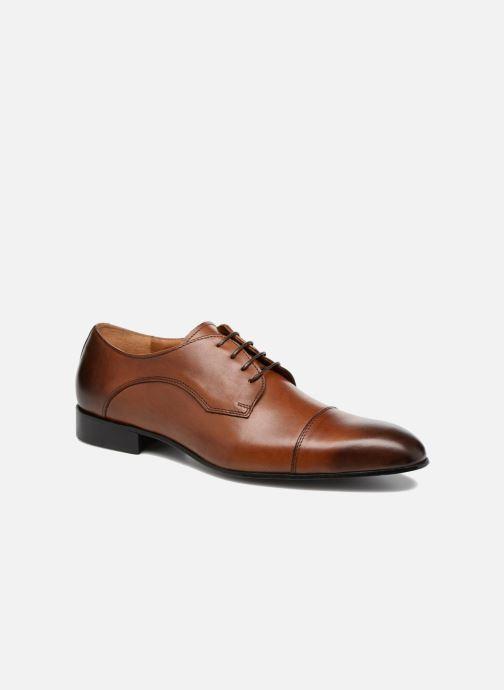 Schnürschuhe Marvin&Co Newlyn braun detaillierte ansicht/modell