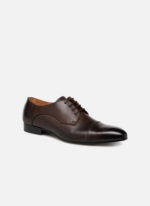Chaussures à lacets Marvin&Co Newlyn Marron vue détail/paire