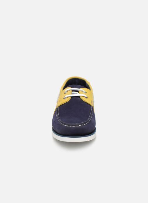Chaussures à lacets Aigle Havson Bleu vue portées chaussures