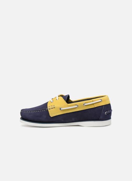 Chaussures à lacets Aigle Havson Bleu vue face