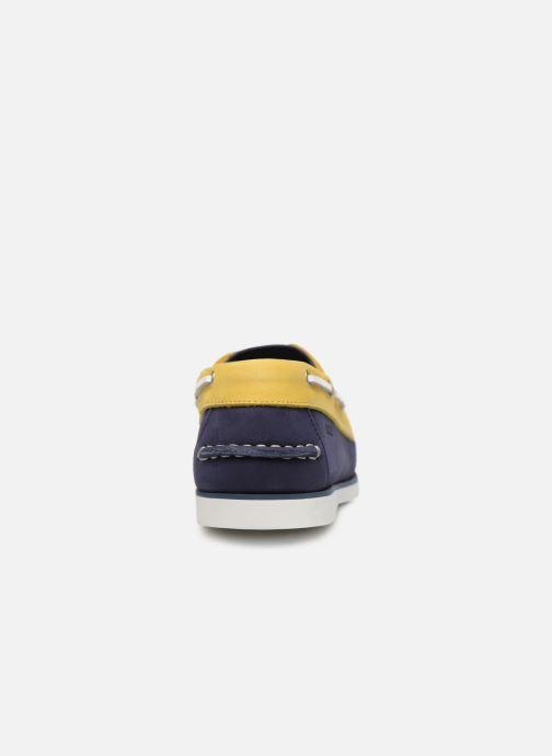 Zapatos con cordones Aigle Havson Azul vista lateral derecha