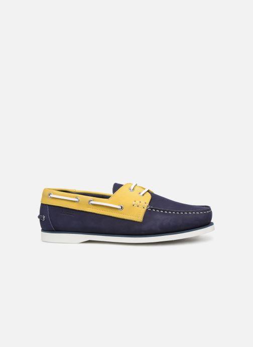 Chaussures à lacets Aigle Havson Bleu vue derrière