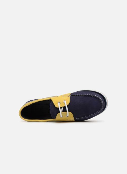 Zapatos con cordones Aigle Havson Azul vista lateral izquierda