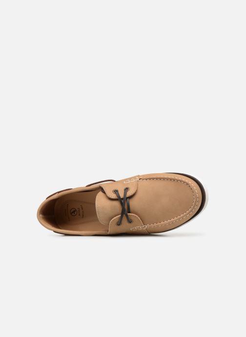 Chaussures à lacets Aigle Havson Beige vue gauche