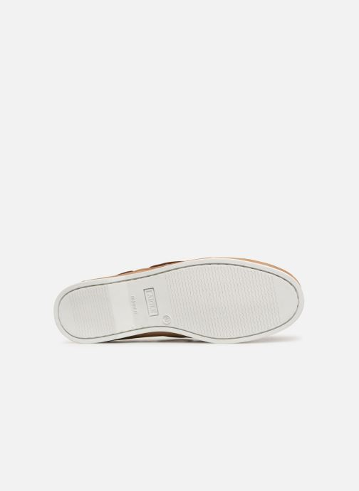 Chaussures à lacets Aigle Havson Beige vue haut