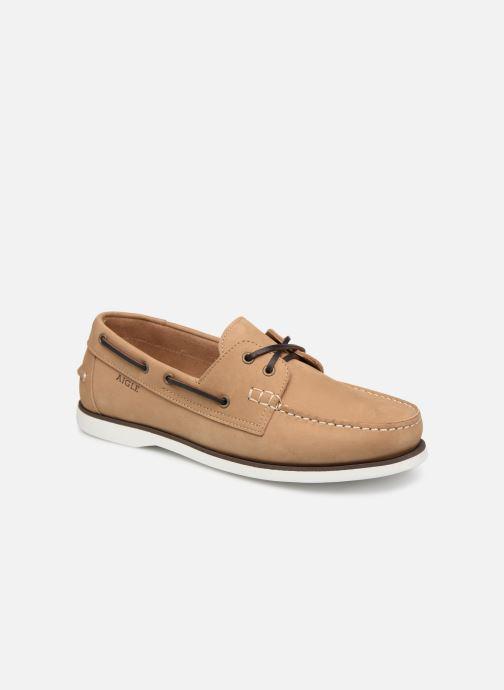Chaussures à lacets Aigle Havson Beige vue détail/paire