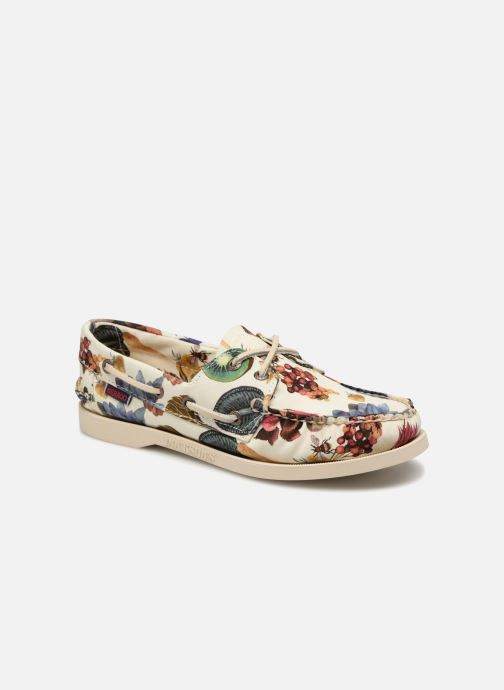 Veterschoenen Sebago Docksides Liberty Multicolor detail