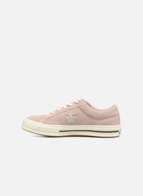 Baskets Converse One Star Ox W Rose vue face
