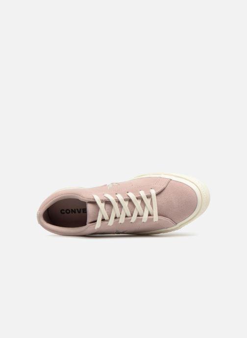 Sneaker Converse One Star Ox W rosa ansicht von links