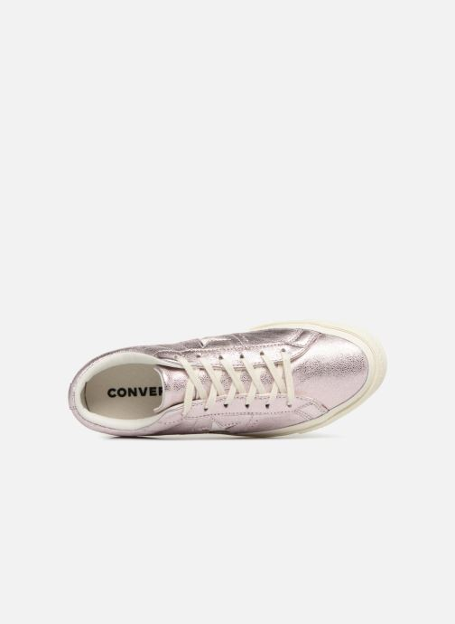 Trainers Converse One Star Ox W Pink view from the left