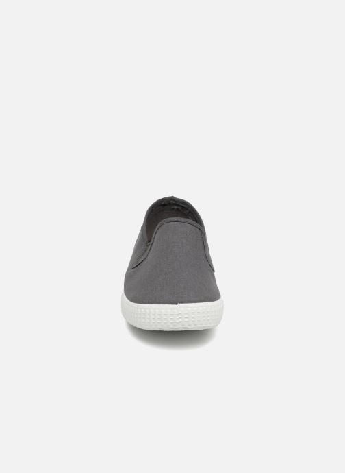 Baskets Cienta Paulo Gris vue portées chaussures