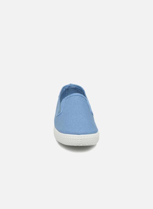 Baskets Cienta Paulo Bleu vue portées chaussures