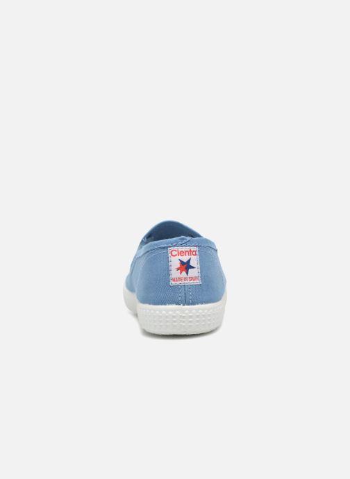 Sneaker Cienta Paulo blau ansicht von rechts