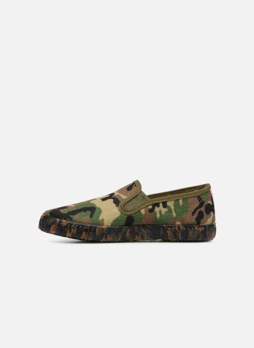 Sneaker Cienta Paulo grün ansicht von vorne