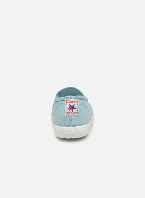 Sneakers Cienta Paulo Azzurro immagine destra