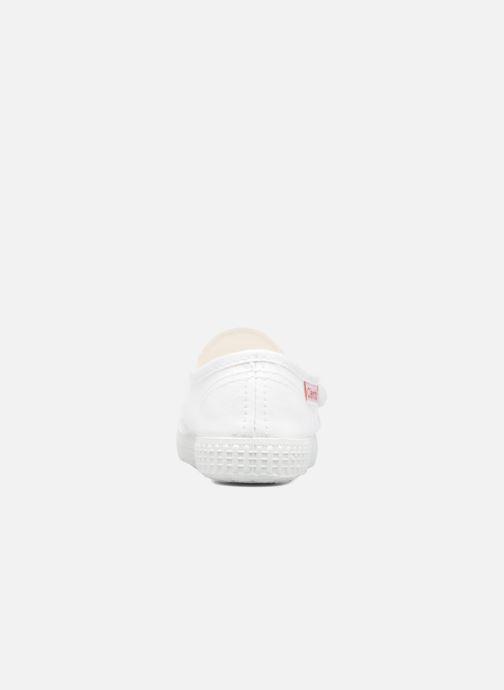 Baskets Cienta Julio Blanc vue droite