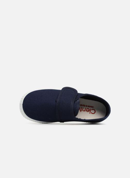 Sneakers Cienta Julio Blauw links
