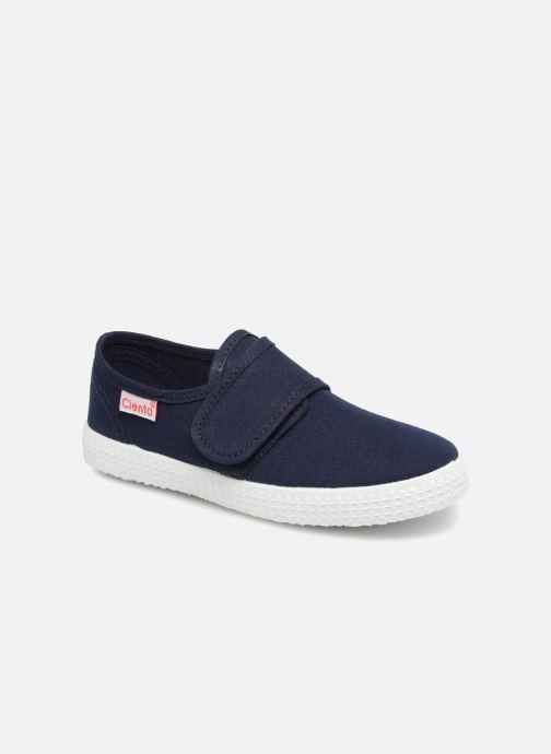 Sneakers Cienta Julio Blauw detail