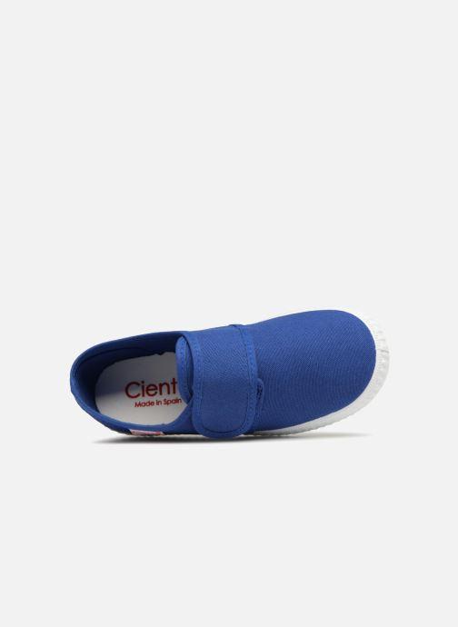 Sneakers Cienta Julio Azzurro immagine sinistra
