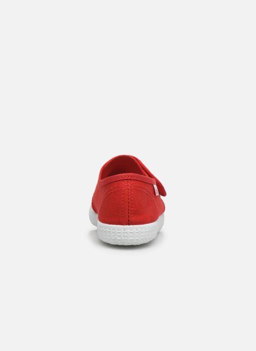 Sneaker Cienta Julio rot ansicht von rechts