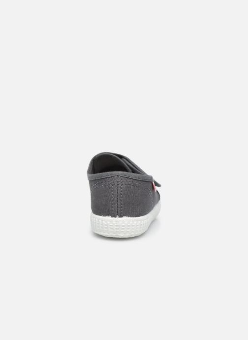 Sneaker Cienta Julio grau ansicht von rechts