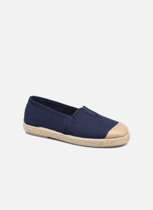 Espadrilles Cienta Pablo Blue detailed view/ Pair view