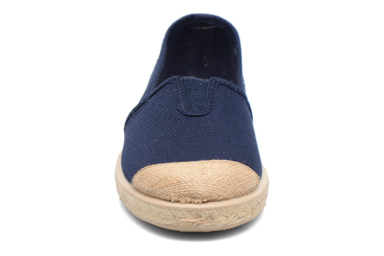 Espadrilles Cienta Pablo Bleu vue portées chaussures