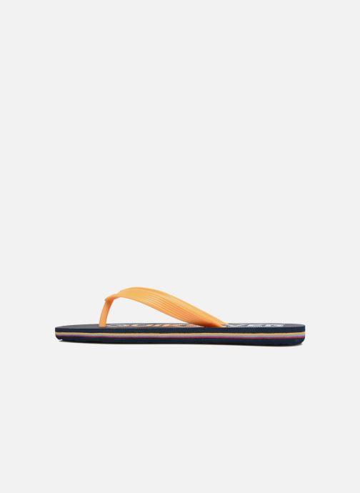 Flip flops Quiksilver Molokai B Blue front view