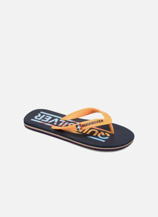 Flip flops Quiksilver Molokai B Blue detailed view/ Pair view